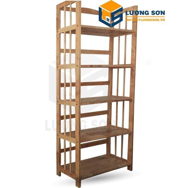 Kệ gỗ cao su 5 tầng - KG03