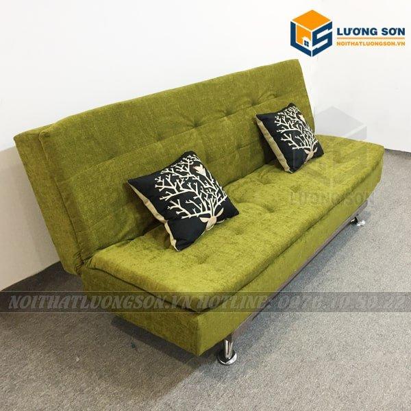 Sofa Giường hai lớp xanh mạ – SFB05