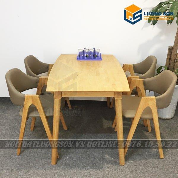 Bộ bàn ăn ghế chữ A kiểu dáng hiện đại