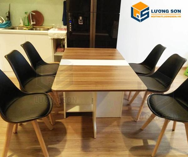 Ghế Eames mặt đệm thường dùng làm ghế ăn, ghế cafe