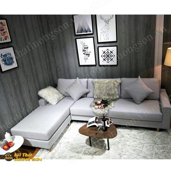 Sofa góc nỉ – SFG17