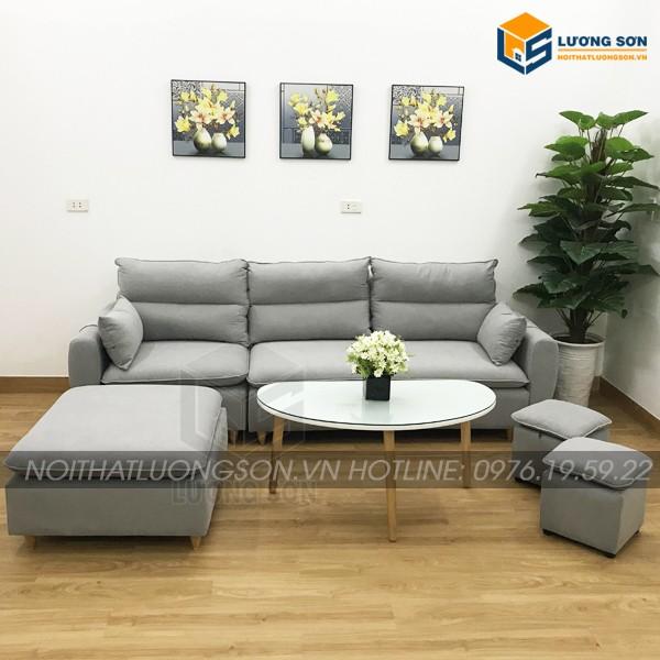 Sofa góc nỉ – SFG15