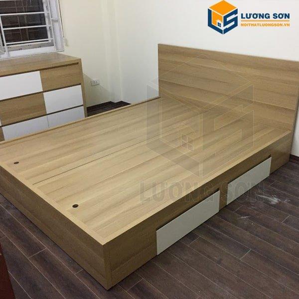 Nội thất Lương Sơn cung cấp các sản phẩm giường gỗ với mẫu mã đa dạng