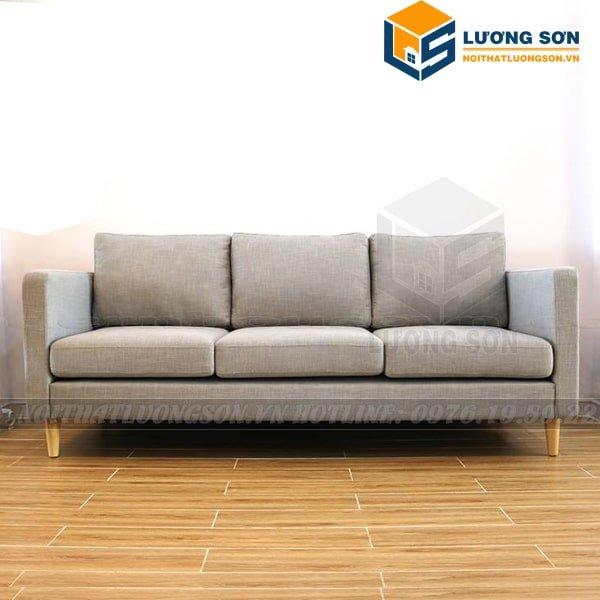 Sofa văng nỉ 2m đệm rời SFV16 mang đậm phong cách Scandinavian
