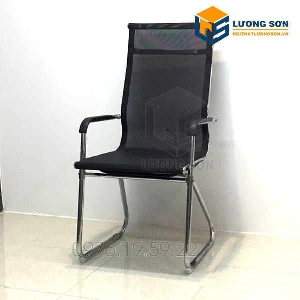 Ghế quỳ liền lưới lưng cao chân chéo G2022 thường được bố trí làm ghế chờ, ghế phòng họp hoặc ghế làm việc.