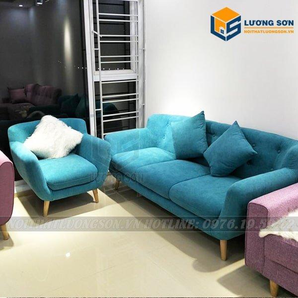 Quý khách có thể lựa chọn thêm ghế đơn để tạo thành bộ Sofa hoàn hảo phòng khách