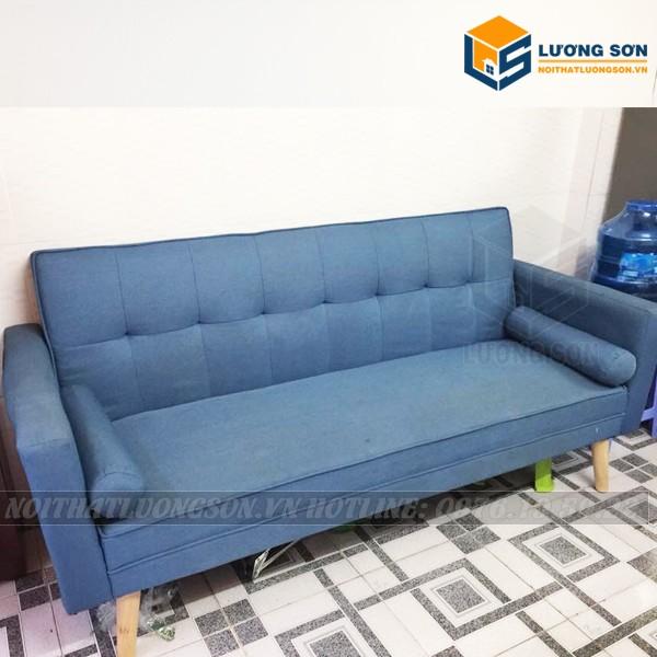 Ghế Sofa giường có tay màu xanh - SFB12 tại Nội Thất Lương Sơn