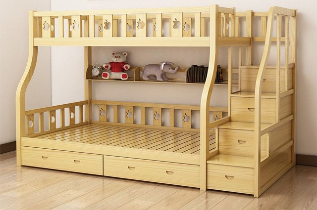 giường tầng đẹp, Mách nhỏ cách bố trí giường tầng đẹp và đảm bảo phong thủy