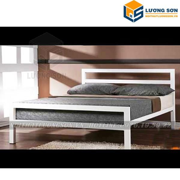 Hình ảnh Giường Sắt GT45 màu trắng
