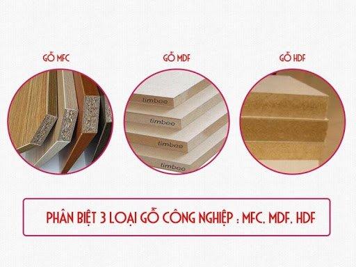 ván mdf, Tìm hiểu về ván mdf và cách phân biệt gỗ MDF, HDF và MFC