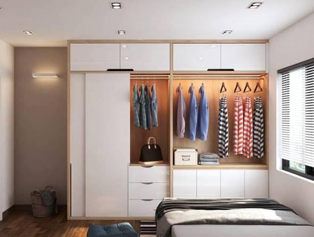 tủ quần áo 2 cánh, Những tips nhỏ giúp sử dụng tủ quần áo 2 cánh luôn rộng rãi