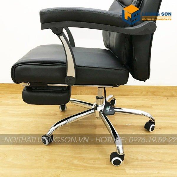 Cần gạt bên trái giúp tăng chỉnh chiều cao ghế tùy theo nhu cầu sử dụng từng người