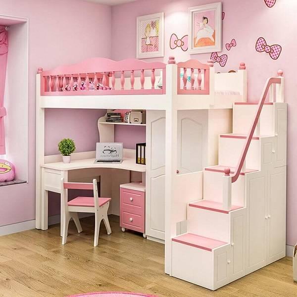 trang trí phòng ngủ, Bất ngờ với cách trang trí phòng ngủ cho trẻ nhỏ nào cũng thích