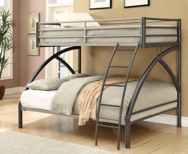 Mẫu giường tầng sắt hiện đại đang được ưa chuộng hiện nay
