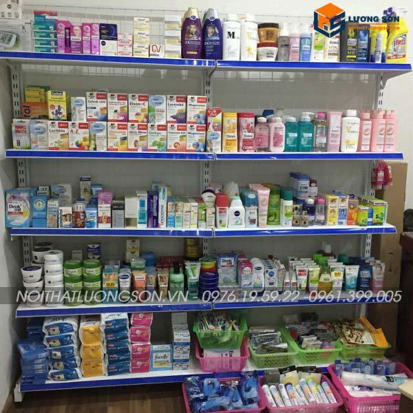 Kệ siêu thị đơn 70cmx180cm - KT03 chứa được nhiều vật dụng