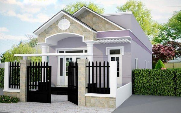 Nhà cấp 4 ngày càng được ưa chuộng khi xây dựng ở ngoại ô