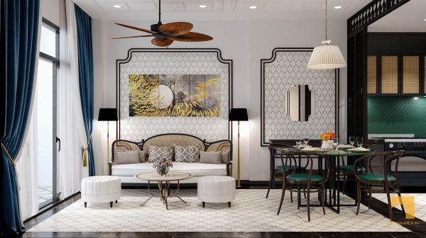 phong cách indochine, Phong cách indochine trong thiết kế nội thất hiện đại có gì đáng chú ý