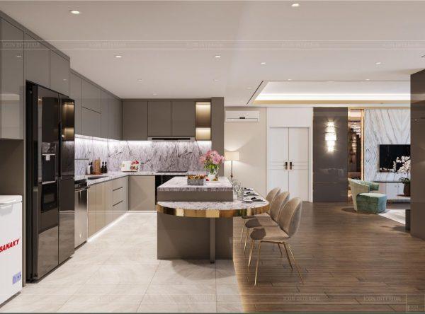 bếp đẹp, Gợi ý 10 không gian bếp đẹp dành cho nhà phố hiện đại