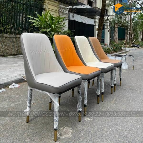 Các màu lựa chọn ghế Monet nhập khẩu không tay