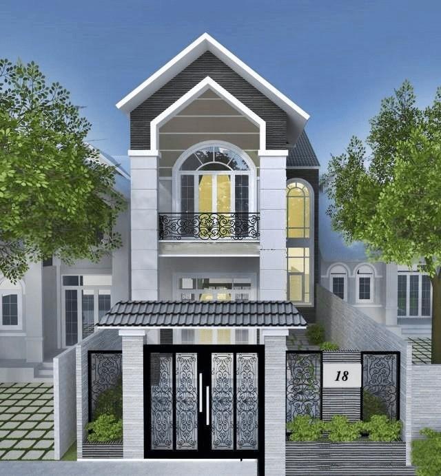 nhà phố mái ngói, Tổng hợp những mẫu nhà phố mái ngói hiện đại nhất 2020