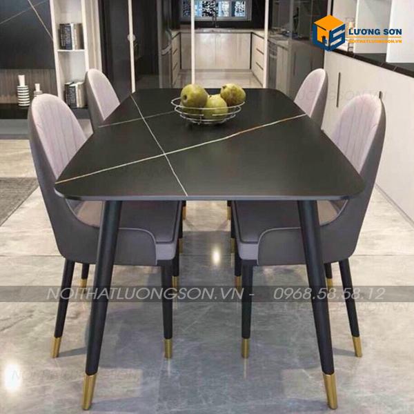 Bộ bàn ăn Kappa 4 ghế Monet nhập khẩu - BA40