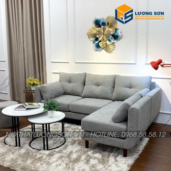 Sofa góc nỉ hiện đại – SFN36
