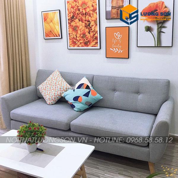 Sofa văng nỉ hiện đại sang trọng – SFN33