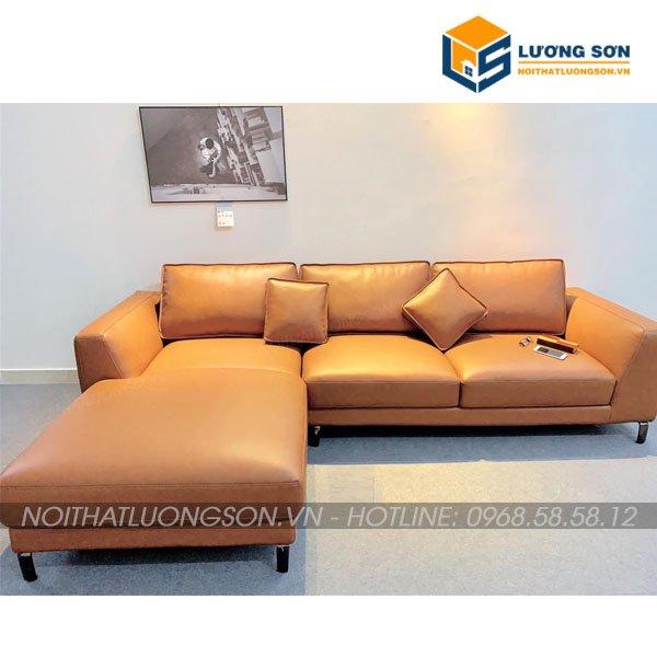 Sofa góc da thông minh – SFD23