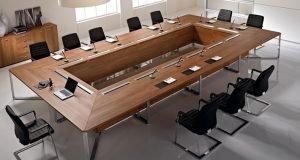 Bật mí nguyên tắc và cách lựa chọn bàn họp đẹp 2021
