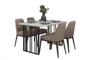 Bộ bàn ăn 4 ghế – chọn lựa xuất hiện phổ biến trong các gia đình