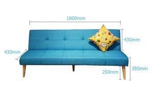 Kích thước ghế sofa giường chuẩn đẹp là bao nhiêu?