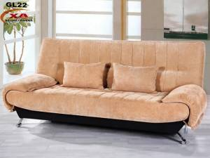 Nội thất phòng khách sang trọng và hiệu quả nhờ sofa giường