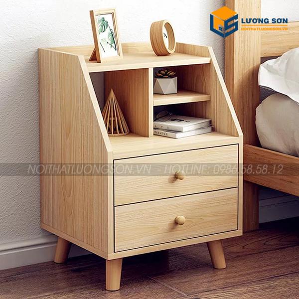 Táp đầu giường MDF màu vàng - TDG05 tiện nghi cho phòng ngủ