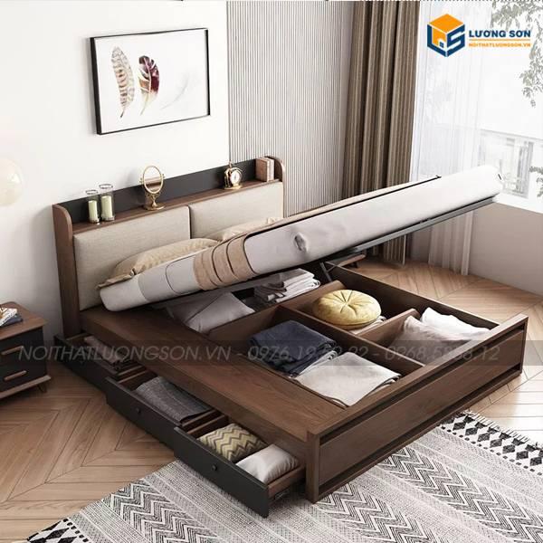 Giường ngủ đa năng thông minh GN32 kiểu dáng hiện đại