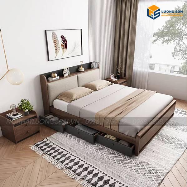 Giường ngủ đa năng thông minh GN32 phong cách ưa chuộng 2021